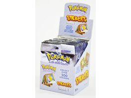 Pokemon Pokemon Artbox Sammelsticker Serie 1 1 Boosterpackung 10 Sticker
