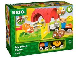BRIO Bahn Mein erster BRIO Bahn Bauernhof mit Sound