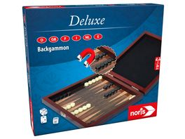 Noris Spiele Deluxe Reisespiel Backgammon