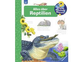 Wieso Weshalb Warum SW900 Band 64 Alles ueber Reptilien