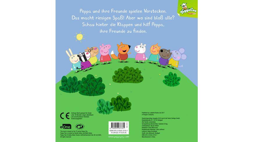Peppa Pig Peppa spielt Verstecken Mein lustiges Klappenbuch Pappbilderbuch mit Klappen