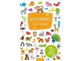 Glitzerspass Tier Sticker