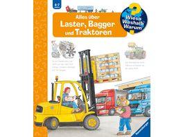 Wieso Weshalb Warum SW900 Band 38 Alles ueber Laster Bagger und Traktoren