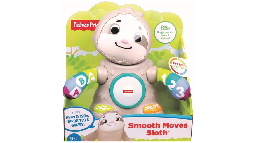 Fisher Price BlinkiLinkis Faultier