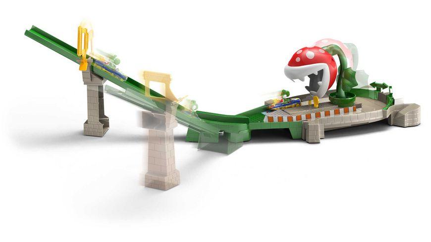 Mattel Hot Wheels Mario Kart Piranhapflanzen Trackset
