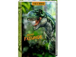 Die Spiegelburg Freundebuch Meine Freunde T Rex World