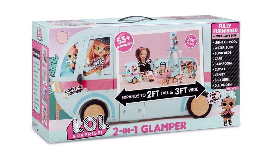 L O L SURPRISE 2 in 1 Glamper