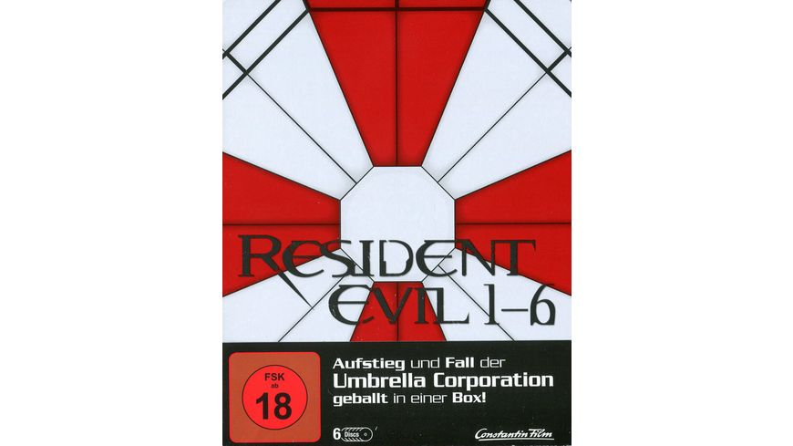 Resident Evil 1 6 Limited Steelbook Edition 6 BRs