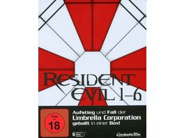 Resident Evil 1 6 Limited Steelbook Edition 6 DVDs