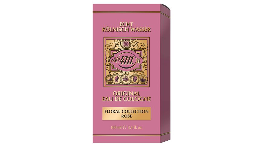 4711 Floral Collection Rose Eau de Cologne