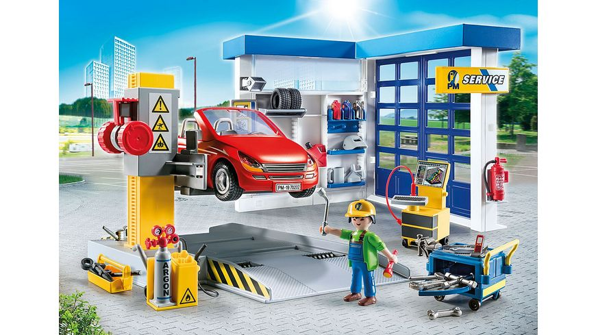 PLAYMOBIL 70202 City Life Autowerkstatt