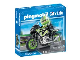 PLAYMOBIL 70204 City Life Motorradtour
