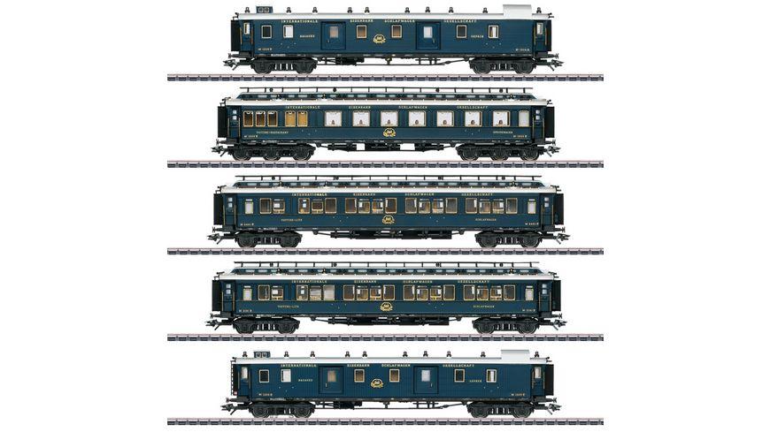 Maerklin 42790 Schnellzugwagen Set 1 Simplon Orient Express