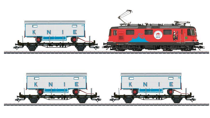 Maerklin 26615 Zugpackung 100 Jahre Schweizer National Circus Knie