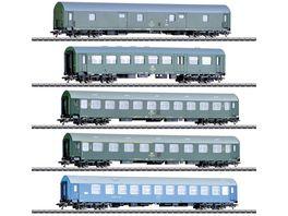 Maerklin 42982 Reisezugwagen Set Deutsche Reichsbahn der DDR