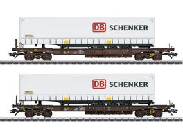 Maerklin 47110 Taschenwagen Set DB Schenker