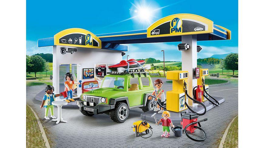 PLAYMOBIL 70201 City Life Grosse Tankstelle