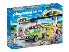 PLAYMOBIL 70201 City Life Grosse Tankstelle