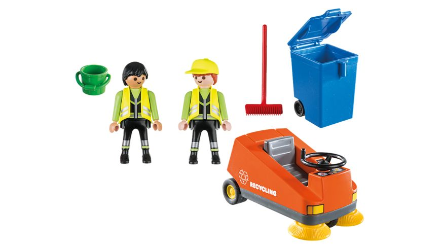 PLAYMOBIL 70203 City Life Kehrmaschine