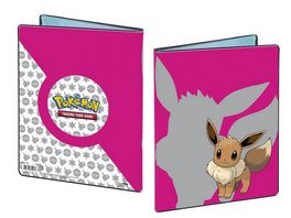 Pokemon Sammelkartenspiel 9 Pocket Mappe mit Eevee Motiven