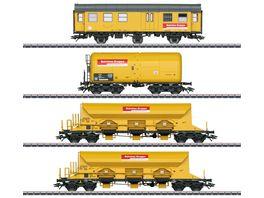 Maerklin 49969 Gueterwagen Set Bahnbaugruppe