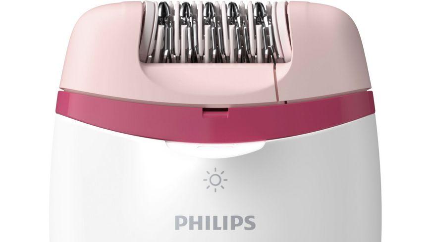 PHILIPS Epilierer Satinelle Essential Kompakter BRE255 00