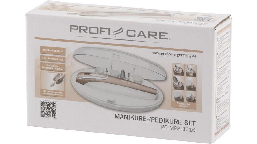 ProfiCare PC MPS 3016 Manikuere Pedikuere Set