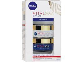 NIVEA Vital Anti Age Set Tag und Nachtgesichtspflege Set