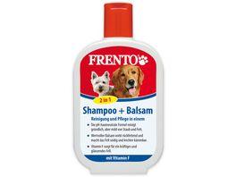 Frento Shampoo und Balsam 2 in 1