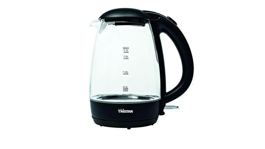 Tristar Wasserkocher Glas 1,7l