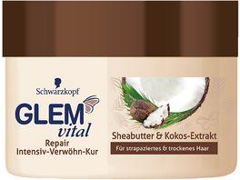 Schwarzkopf GLEM vital Kur Repair Sheabutter Kokos