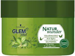 Schwarzkopf GLEM vital Naturwunder Tiegelkur Olive