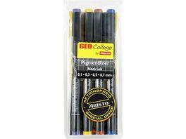 ARISTO Pigmentliner Set 3 1 schwarz