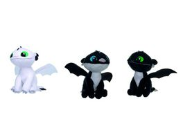 Joy Toy Dragons NIGHT LIGHTS PLUeSCH 3 CHARAKTERE 1 Stueck sortiert