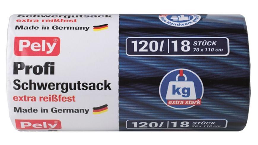 Pely Profi Schwergutsack mit Verschlussband 120 Liter