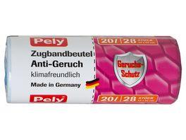 Pely Zugbandbeutel Anti Geruch 20 Liter