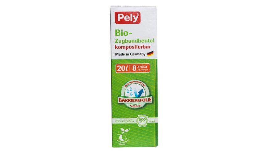 Pely® Bio-Zugbandbeutel 20 Liter