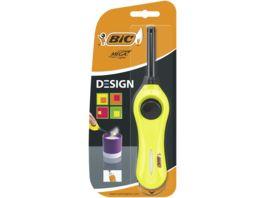 BIC Megalighter Design Multifunktionsfeuerzeug Verschiedene Farben 1er Pack