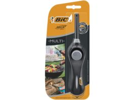 BIC Megalighter Multifunktionsfeuerzeug Schwarz oder Blau 1er Pack