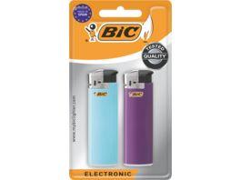 BIC Electronic Feuerzeuge verschiedene Farben 2er Pack