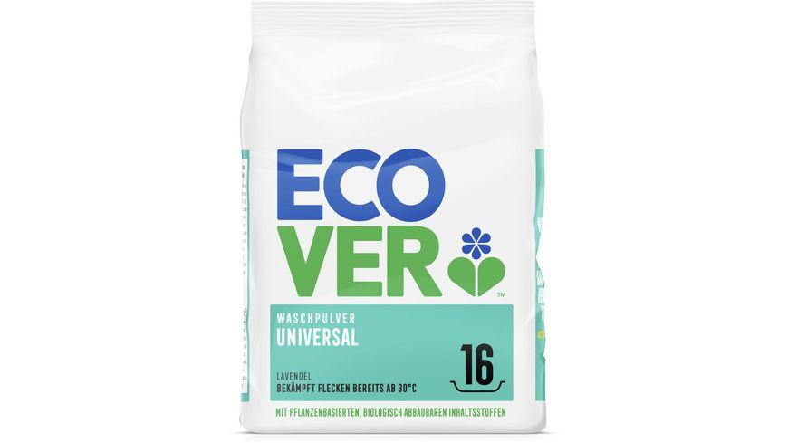 Ecover Waschpulver Universal Konzentrat Lavendel