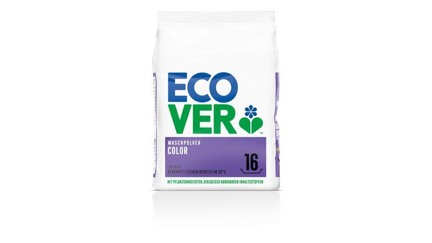 Ecover Waschpulver Color Konzentrat Lavendel