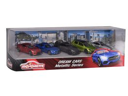 Majorette Metallic Dream Cars Geschenkset
