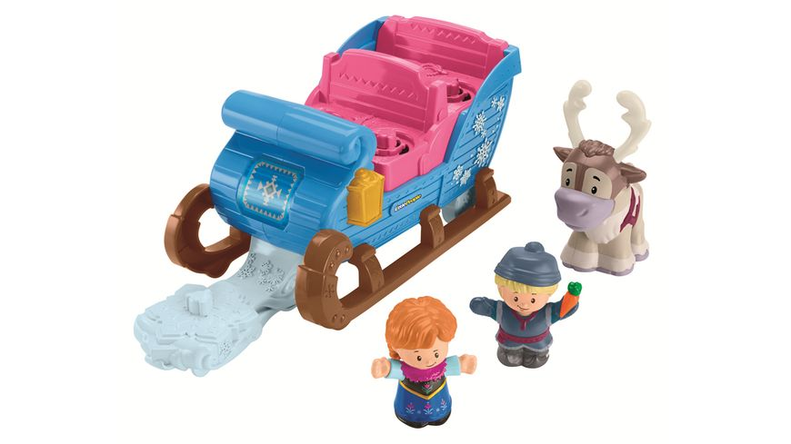 Fisher Price Little People Frozen Kristoffs Schlitten
