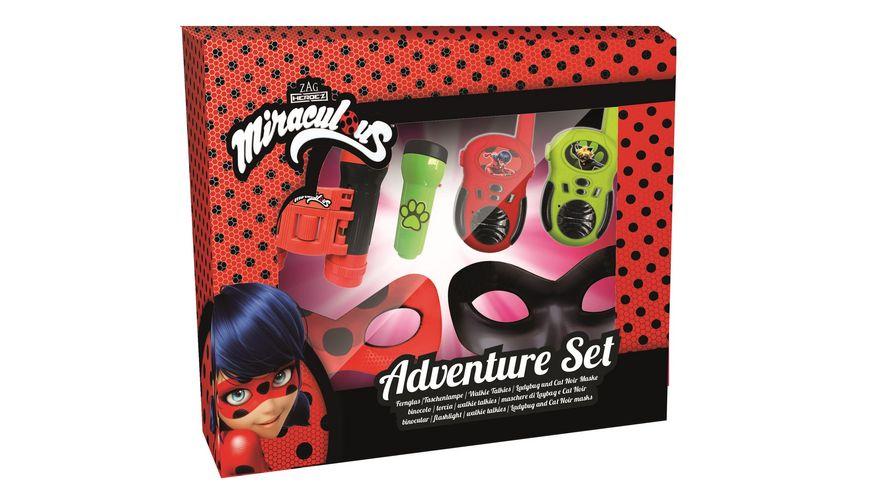 Joy Toy Miraculous Abenteuer Set