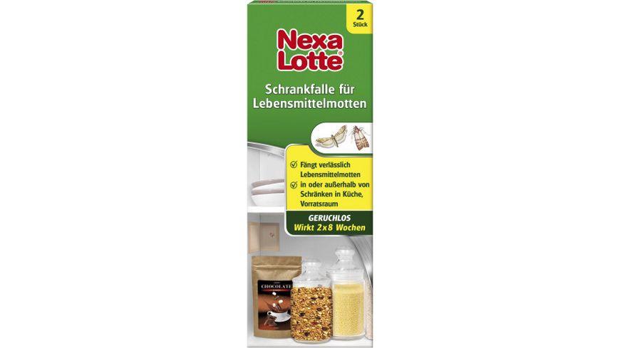 Nexa Lotte Schrankfalle fuer Lebensmittelmotten