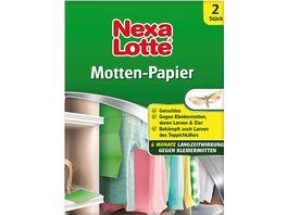 Nexa Lotte Mottenschutz Papier