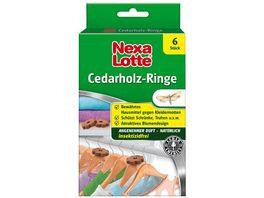 Nexa Lotte Cedarholz Ringe