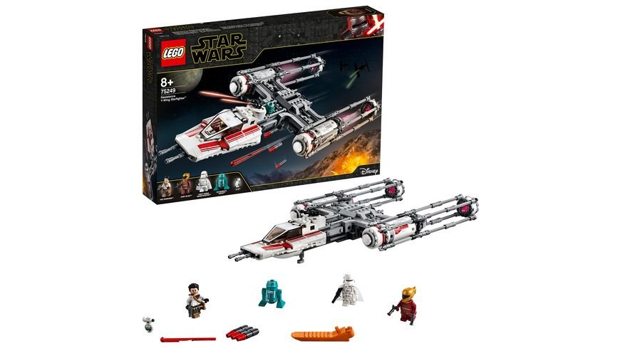 LEGO Star Wars 75249 Widerstands Y Wing Starfighter
