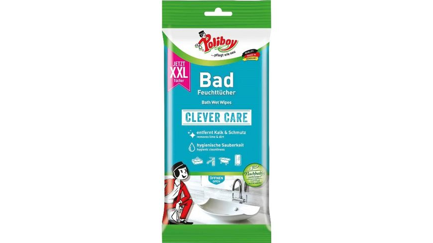 Poliboy Clever Care XXL Bad Feuchttuecher